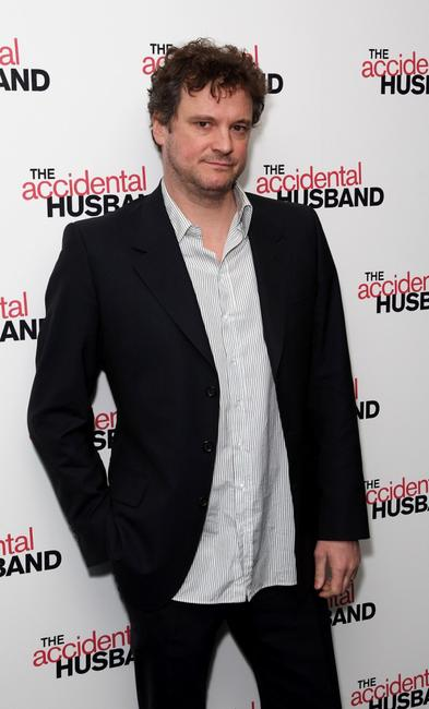 Colin Firth at the UK premiere of