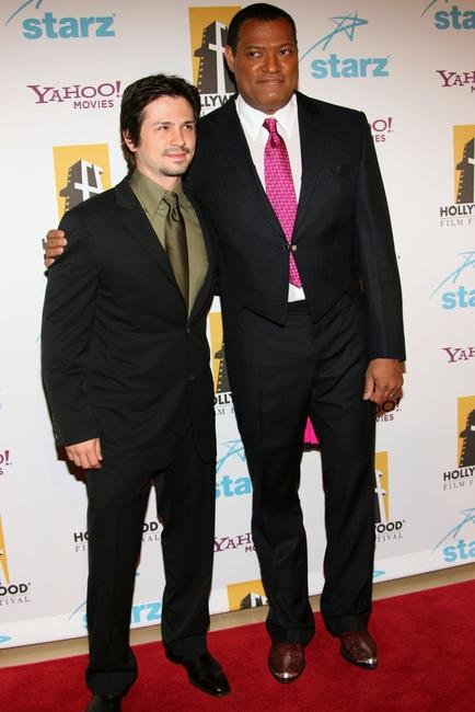 Laurence Fishburne and Freddy Rodriguez at the Hollywood Film Festival 10th Annual Hollywood Awards Gala Ceremony.