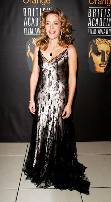 Gillian Anderson at the Orange British Academy Film Awards 2005.