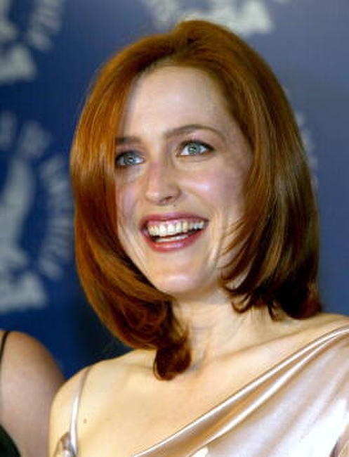 Gillian Anderson at the 54th Annual DGA Awards.