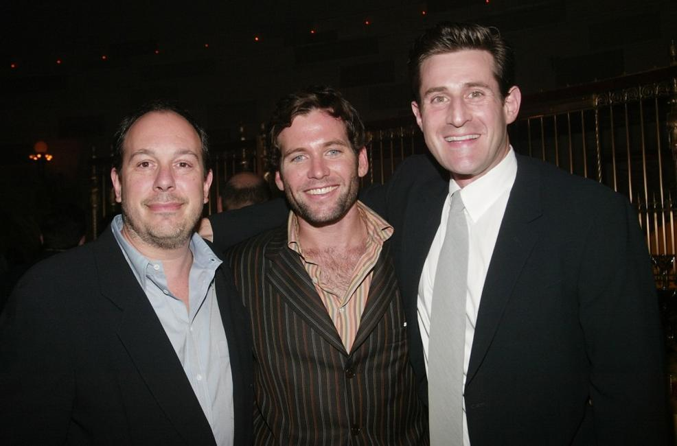 Producer Mark Gordon, Eion Bailey and producer Joshua Maurer at the premiere of