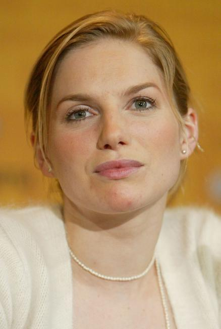Eva Birthistle at the news conference of