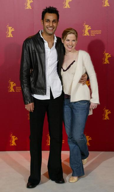 Atta Yaqub and Eva Birthistle at the photocall of