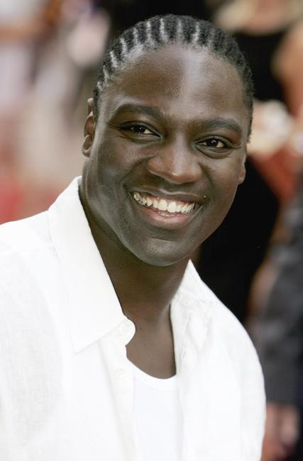 Adewale Akinnuoye-Agbaje at the European premiere of