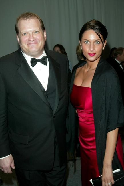Drew Carey and Guest at the White House Correspondent's Dinner after party.