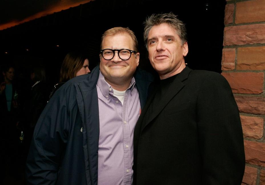 Drew Carey and Craig Ferguson at the launch party of