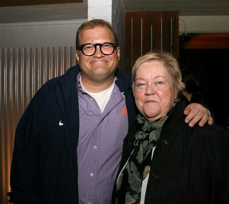 Drew Carey and Kathy Kinney at the launch party of