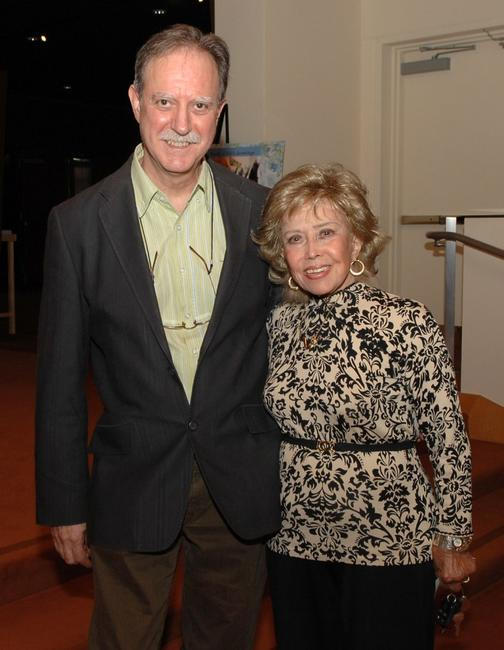 Normand Roger and June Foray at the Academy of Motion Picture Arts and Sciences.