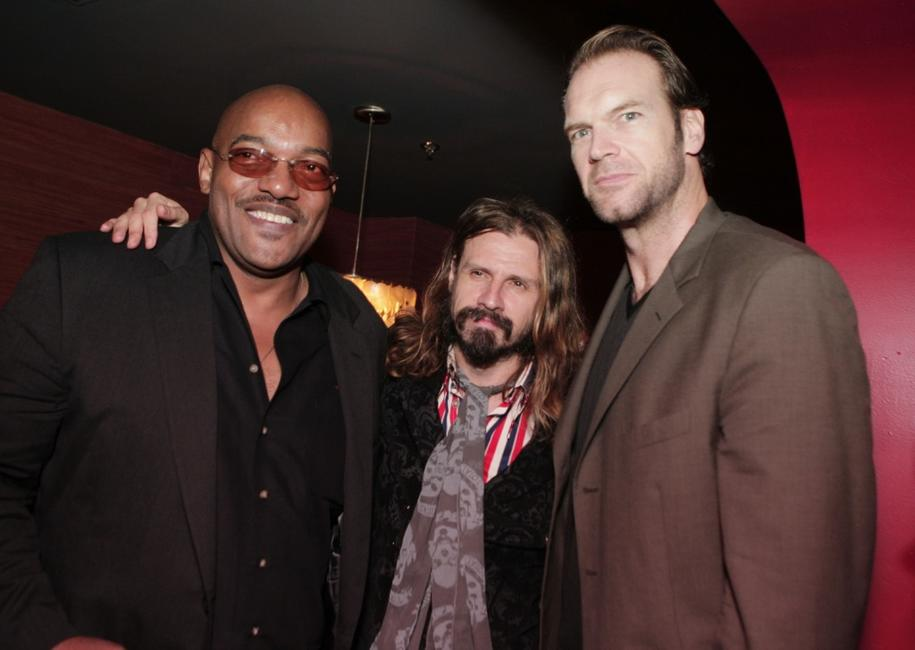 Ken Foree, director Rob Zombie and Tyler Mane at the after party of the premiere of