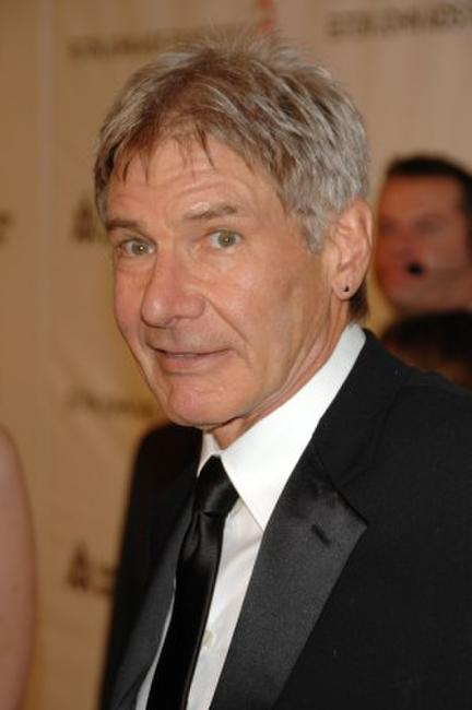 Harrison Ford at the 16th Annual Elton John AIDS Foundation Academy Awards viewing party.