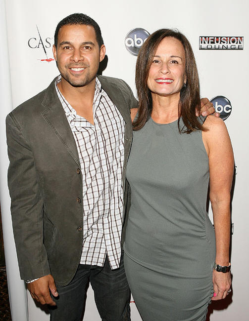 Jon Huertas and executive producer Laurie Zaks at the Season 3 California premiere of