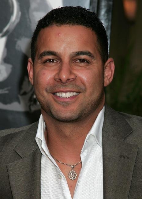 Jon Huertas at the premiere of