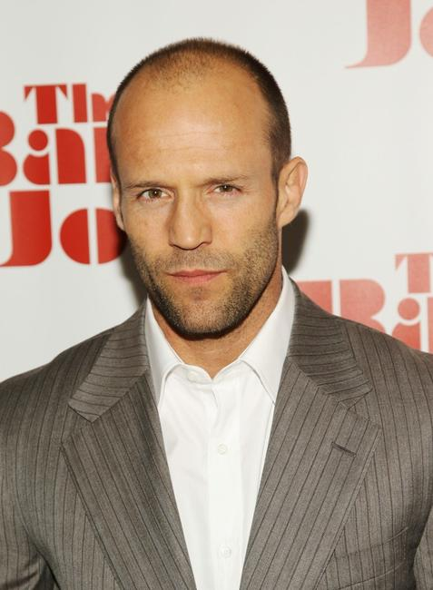 Jason Statham at the New York screening of