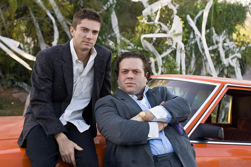 Topher Grace and Dan Fogler in