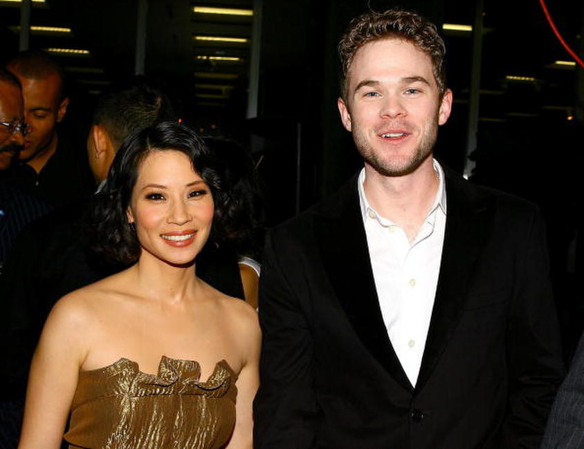 Lucy Liu and Shawn Ashmore at the New York Aids Film Festival.