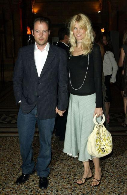 Matthew Vaughn and Claudia Schiffer at the premiere of