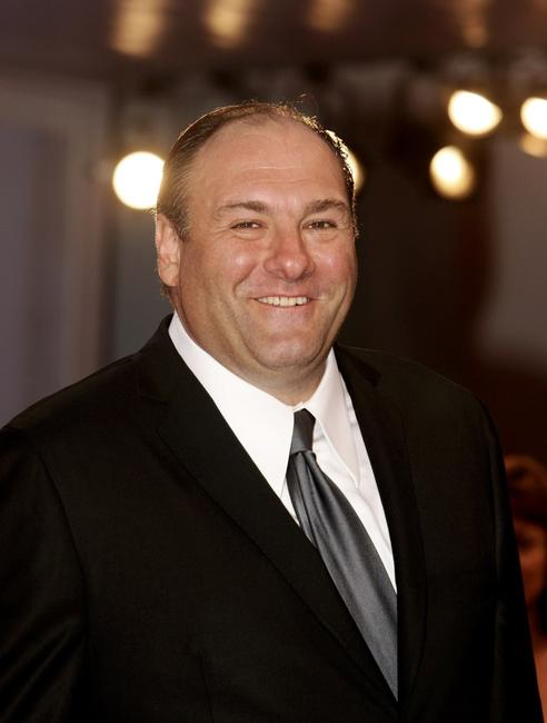 James Gandolfini at the premiere