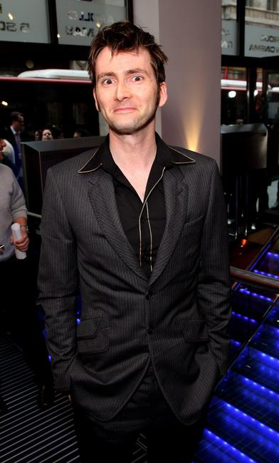 David Tennant at the press launch of