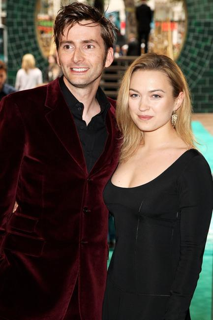 David Tennant and his Guest at the European premiere of