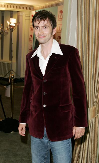 David Tennant at the TV Quick and TV Choice Awards.