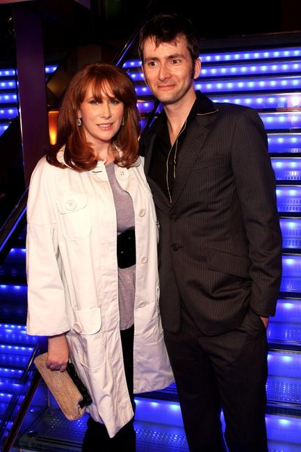 Catherine Tate and David Tennant at the press launch of