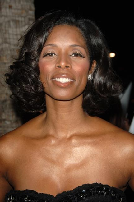 Tasha Smith at the premiere of