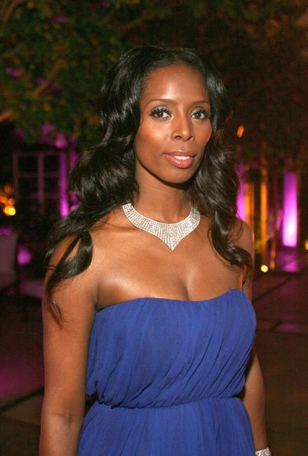 Tasha Smith at the afterparty of the premiere of