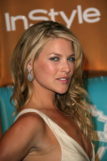 Ali Larter at the Golden Globe after party hosted by In Style Magazine and Warner Bros. Studios.