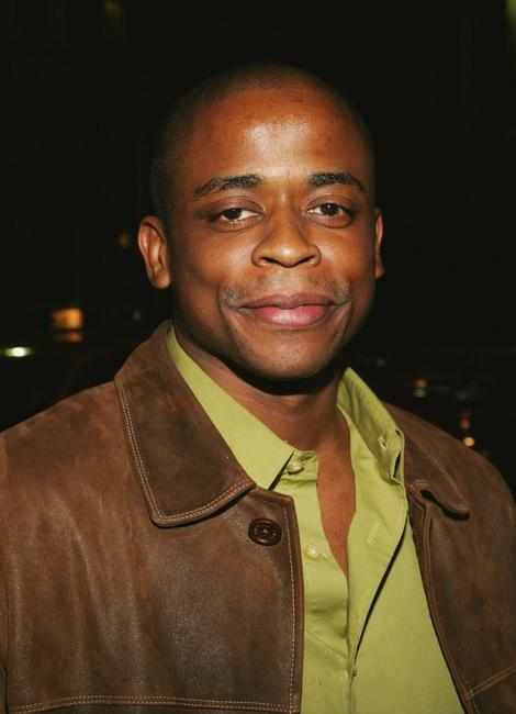 Dule Hill at the Calvin Klein Underwear party.