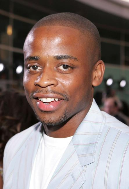 Dule Hill at the premiere of