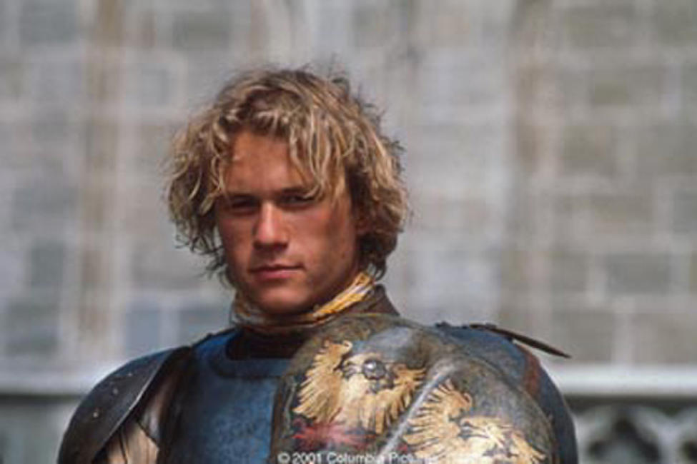 Heath Ledger stars as would-be knight William Thatcher in