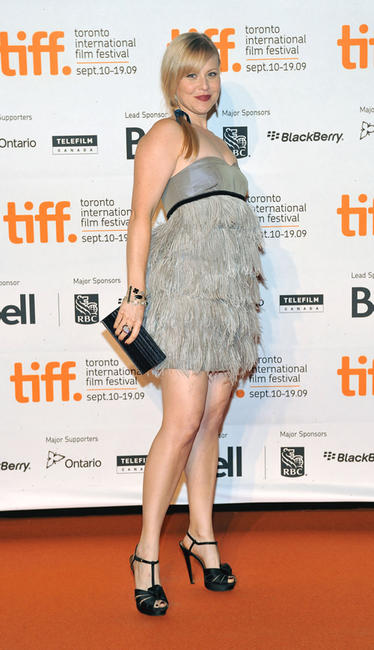 Kristin Booth at the Opening Night party of 2009 Toronto International Film Festival in Canada.
