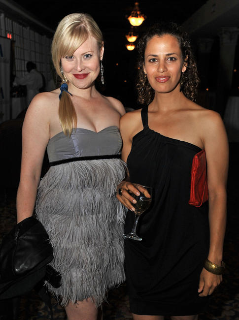 Kristin Booth and Athena Karkanis at the Opening Night party of 2009 Toronto International Film Festival in Canada.