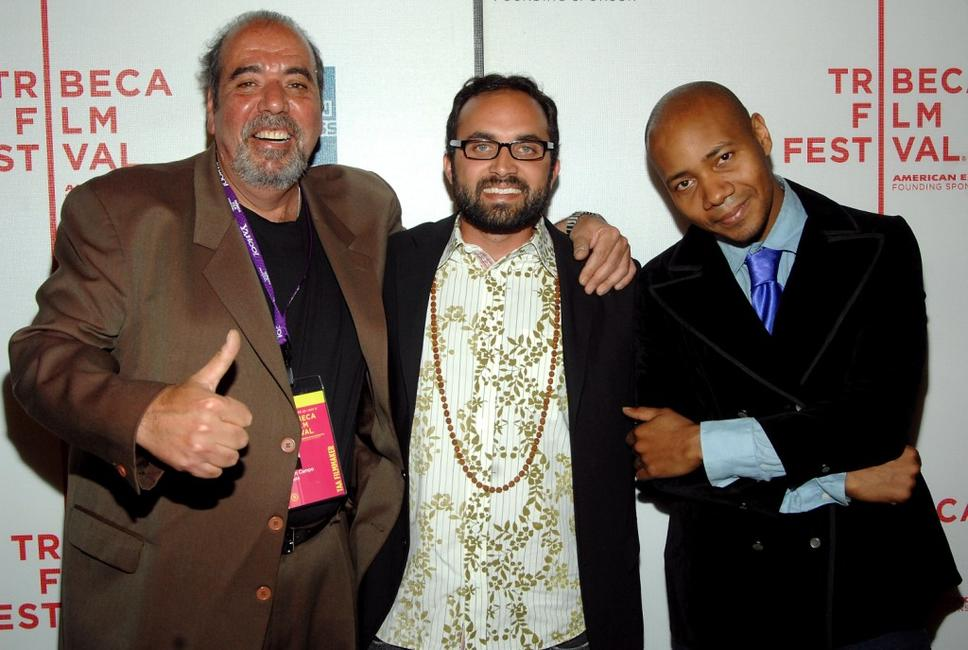 Musician John Campo, Ben Rekhi and DJ Spooky at the 2007 Tribeca Film Festival awards.