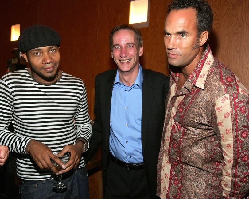 DJ Spooky, Mark Murphy and Roger Guenvuer Smith at the
