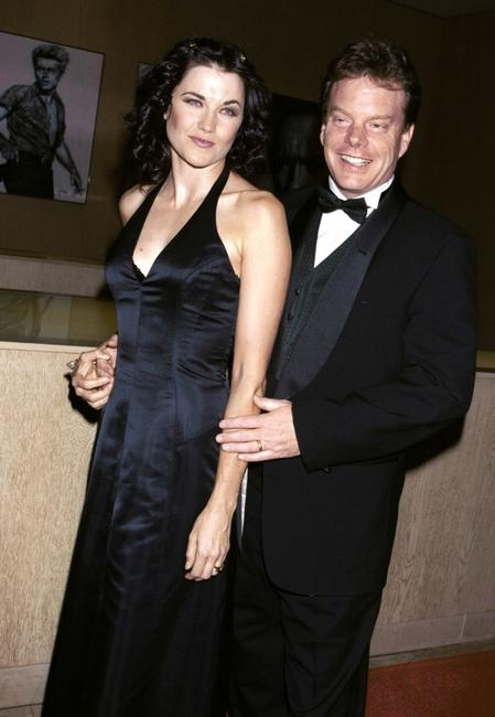 Lucy Lawless and her husband Rob Tapert at the 2001 ASCAP Film and Television Music Awards.
