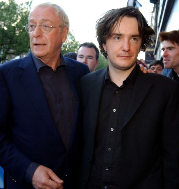 Michael Caine and Dylan Moran at the world premiere of