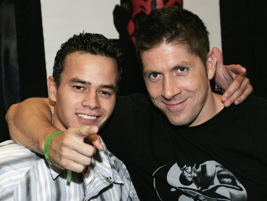 Daniel Logan and Ray Park at the Fifth Annual Official Star Trek Convention.