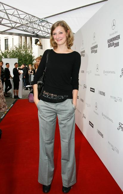 Alexandra Maria Lara at the Strenesse fashion show.