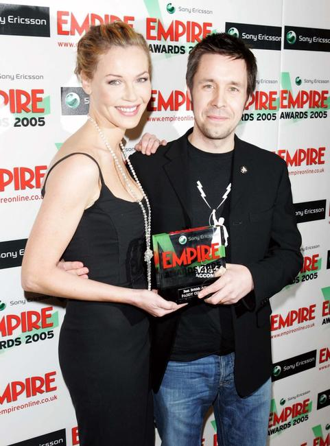Connie Nielson and Paddy Considine at the Sony Ericsson Empire Film Awards 2005.