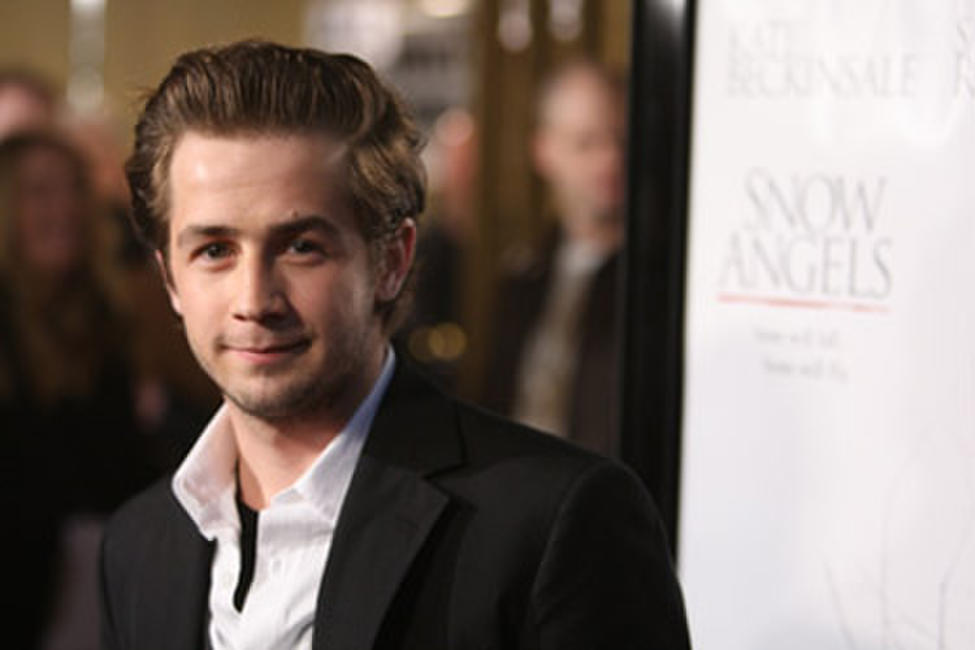 Actor Michael Angarano at the L.A. premiere of