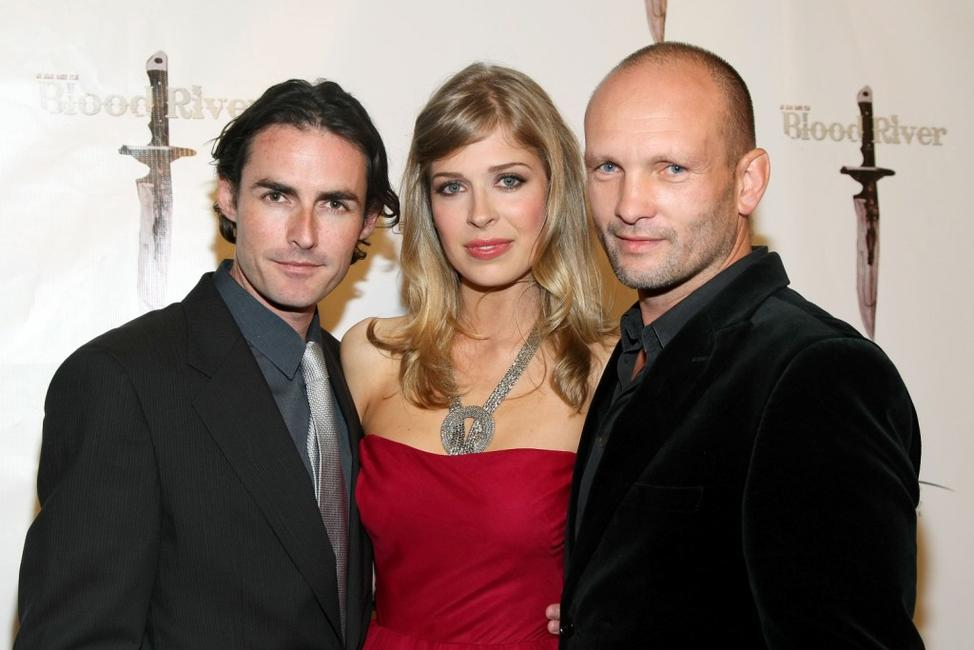 Ian Duncan, Tess Panzer and Andrew Howard at the premiere of