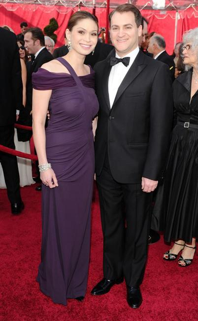 Mai-Ling Lofgren and Michael Stuhlbarg at the 82nd Annual Academy Awards.