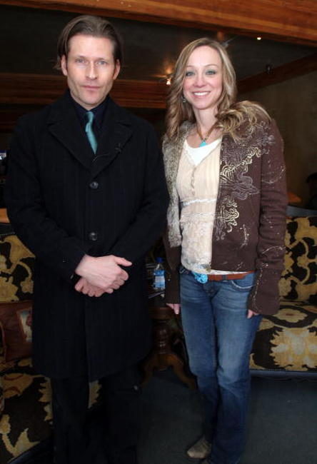 Crispin Glover and Guest at the 2007 Sundance Film Festival.