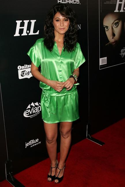 Emmanuelle Chriqui at the Hollywood Life magazine's 10th Annual Young Hollywood Awards.