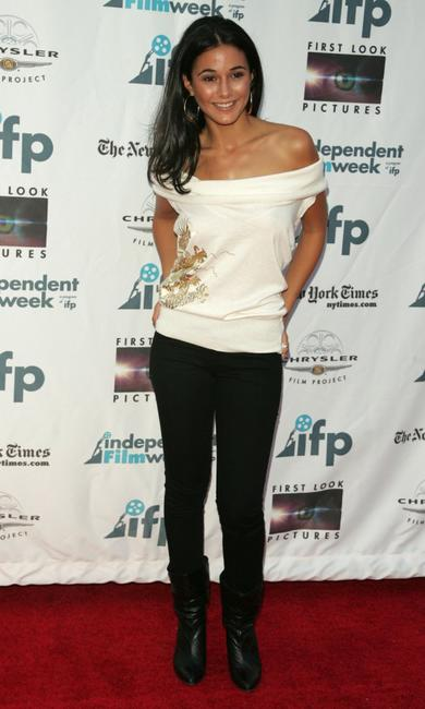 Emmanuelle Chriqui at the premiere of