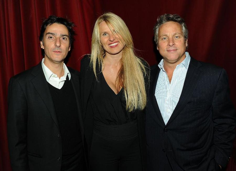Yvan Attal, producer Marina Grasic and Tom O'Malley at the after party of the premiere of