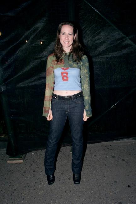 Miriam Shor at the screening of