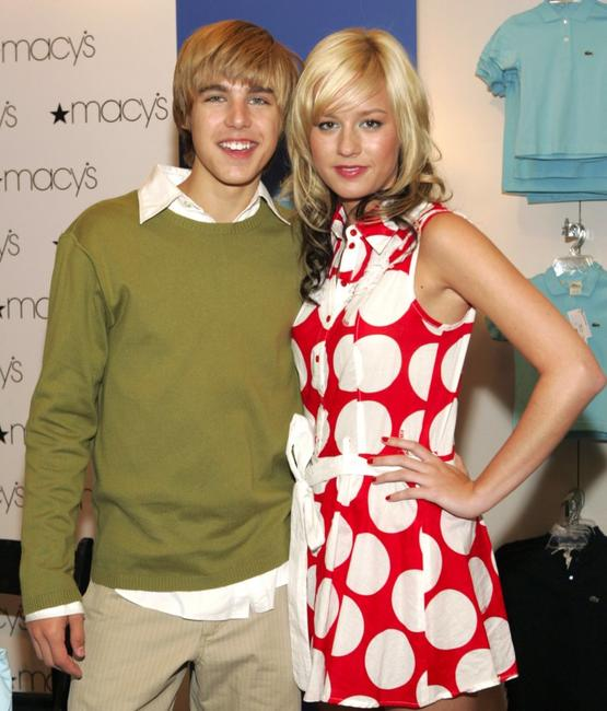 Cody Linley and Brie Larson at the Stars of New Line Cinemas