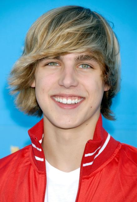 Cody Linley at the world premiere of